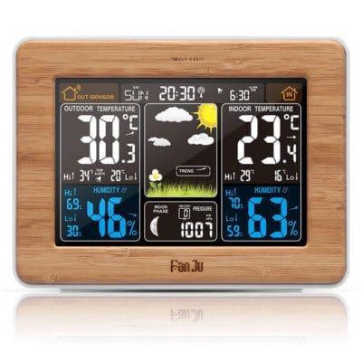 תחנת מזג אויר - שעון מעורר - לוקו0ט – Lowc0st || קונים בחכמה באינטרנט!