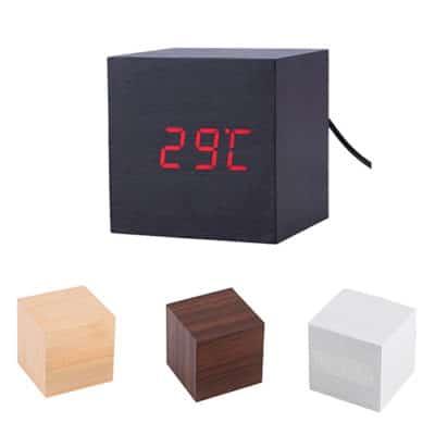 שעון מעץ מעוצב - שעון מעורר - לוקו0ט – Lowc0st || קונים בחכמה באינטרנט!