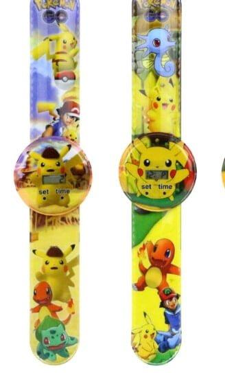 שעון דיגיטאלי מעוצב לילדים - פיקאצ'ו פוקימון - במחיר השקה !