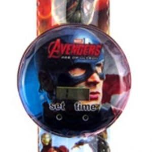 שעון דיגיטאלי מעוצב לילדים - הנוקמים - קפטן אמריקה - במחיר השקה !