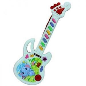 גיטרה לילדים תינוקות סוללות לוקו0ט