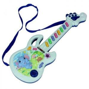 גיטרה חשמלית לילדים - עם רצועה - במחיר פצצה !