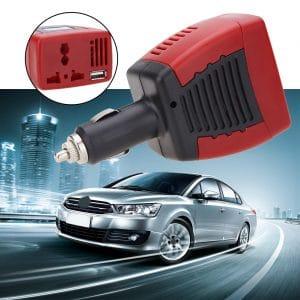 ממיר מתח מצת חשמלי לרכב 12V 220V לוקו0ט