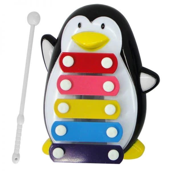 קסילופון פינגווין מעוצב לילדים - במחיר מפתיע !