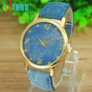 שעון מעוצב - דנים סטייל - כחול