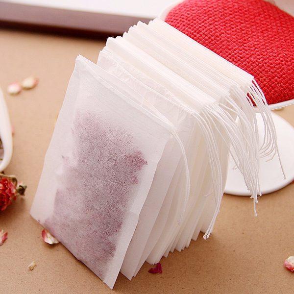 שקיות תה ריקות - להכנת חליטה בקלות וביעילות - 100 יחידות