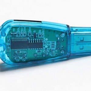 התקן USB נייד - להעברת נתונים מהסים למחשב