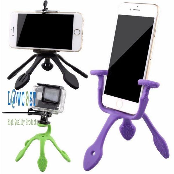 צילום - חצובה קטנה - לסמארטפון - למצלמת אקסטרים - עם מגוון אפשרויות