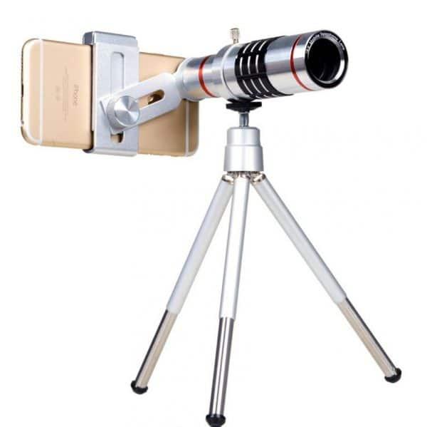 טלסקופ X18 ZOOM - עם סטנט - לסמארטפון