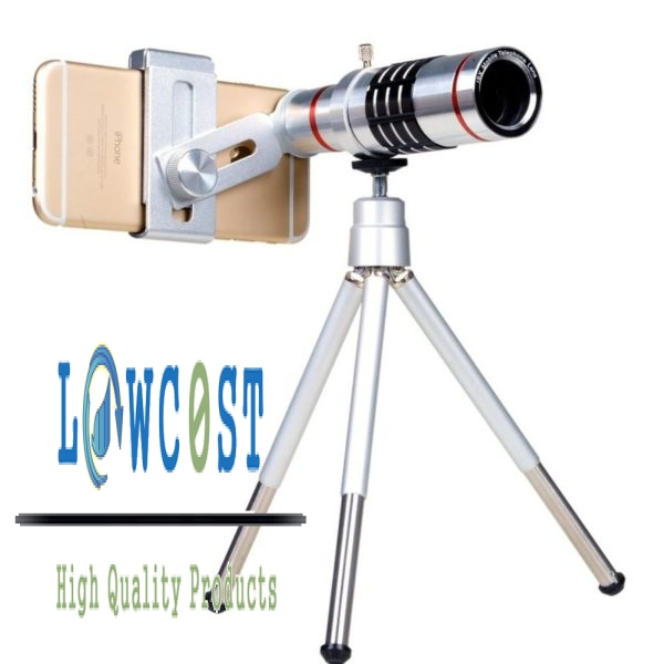 צילום - טלסקופ X18 ZOOM - עם סטנט - לסמארטפון