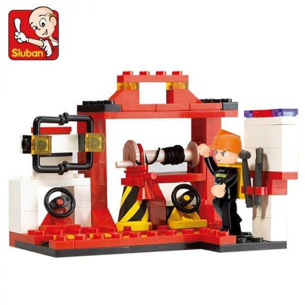 צעצוע לגו - דגם מכונית כיבוי אש - 175 חלקים