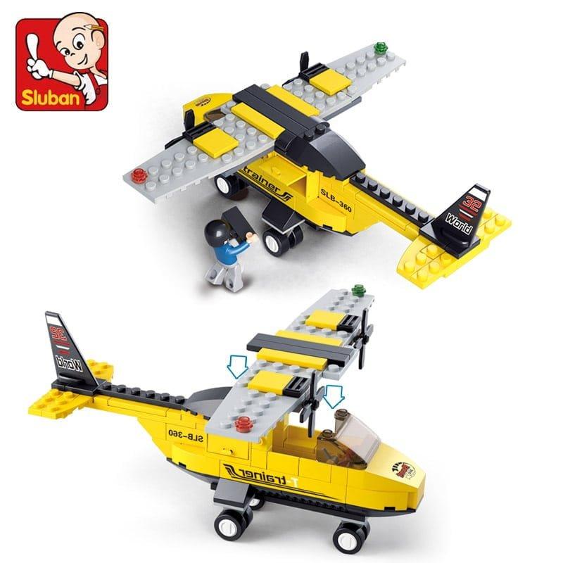 צעצוע לגו - דגם מטוס - 110 חלקים
