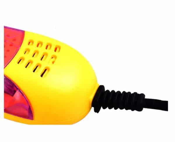 220V 10W EU plug Race car shape voilet light shoe dryer foot protector
