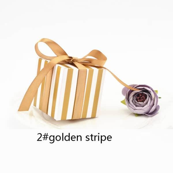 30 אריזות נייר - עם סרט לקשירה - למתנה - לממתקים