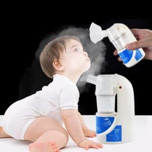 מכשיר אינהלציה לתינוקות / משאף רפואי נייד לאסטמה