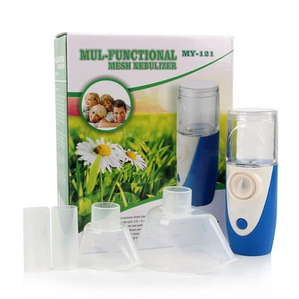 מכשיר אינהלציה משאף לילדים ומבוגרים - רפואי, נייד, קטן וקל - עם חיבור USB