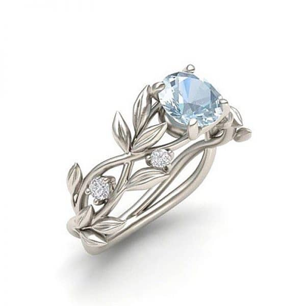 טבעת רומא - בסגנון כסף לנשים - עיצוב מעודן ונוח