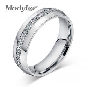טבעת בסגנון כסף לנשים - עיצוב מעודן ויוקרתי