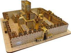 דגם בית המקדש השלישי - למתקדמים - נבואת יחזקאל להרכבה עם הילדים