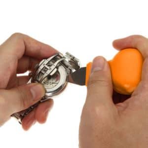 כלי עבודה לתיקון שעונים - פותחן לשונית לפתיחת מכסה השעון