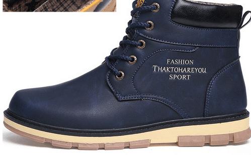 נעליים גבוהות - לחורף מושלג - לגברים ולנערים בארבעה צבעים