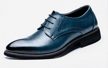 נעלים אלגנטיות לאירועים - עשויות מעור - לגברים - בשישה צבעים