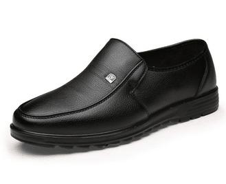 נעלי אלגנט מוקסין מעור - לשבתות וחגים - לגברים ונערים - בשני צבעים