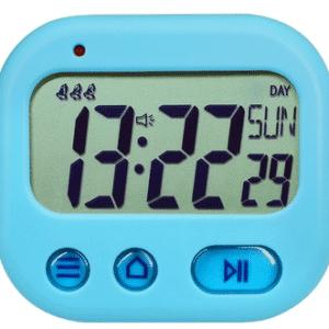 שעון מעורר - קומפקטי - נייד - מגיע בארבעה צבעים