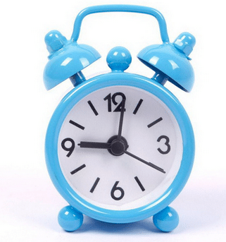 שעון מעורר - מיני - מגיע בשמונה צבעים לבחירה