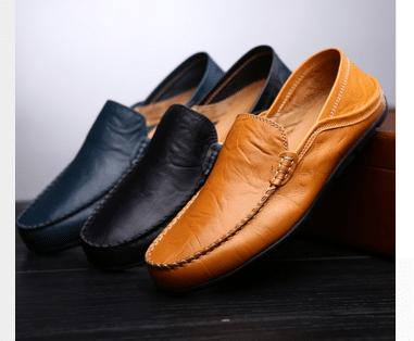 נעלי הליכה - לגברים - שטוחות ונוחות - בשלושה צבעים לוקו0ט