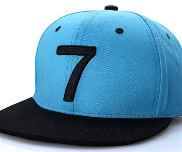 כובע שמש לנערים וגברים - אופנתי - עם כיתוב באנגלית