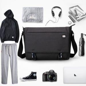 תיק צד - לגברים - עשוי למסמכים ומחשב נייד - עשוי בד איכותי
