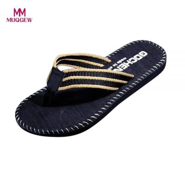 נעלי אצבע אופנתיות לנערים וגברים - עשיות מגומי ובד איכותי - בשלושה צבעים