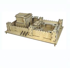 דגם להרכבה עם ילדים - משחק חינוכי, בית המקדש השני