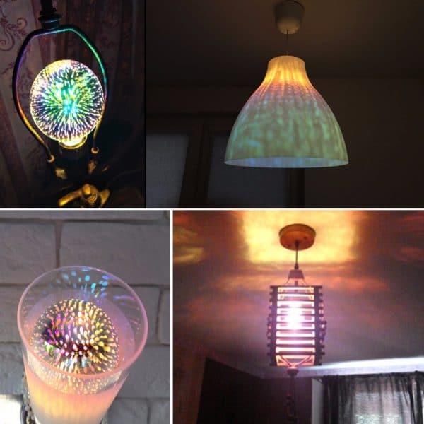 מנורת לילה רטרו - לוקוסט