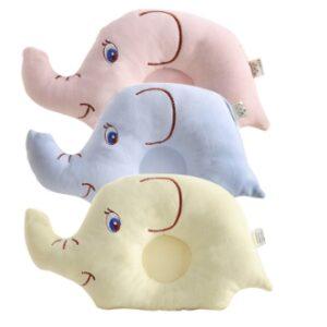 כרית לתינוק בצורת פיל