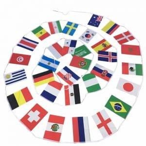 שרשרת דגלים לתליה