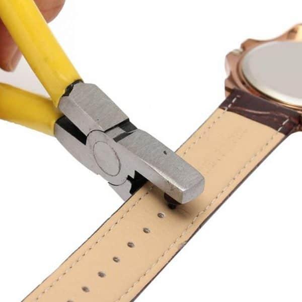 מנקב רצועות לשעונים - לחגורות שעונים - שעון יד - לוקו0ט