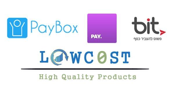 תשלום באמצעות אפליקציות חברתיות PEPPER PAY BIT PAYBOX לוקו0ט