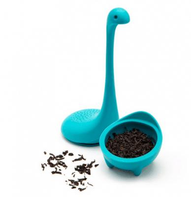 מסנן עלי תה – עשוי סיליקון – בצורת דינוזאור – בשלושה צבעים לוקו0ט