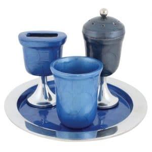 קופסה מצות לשולחן מלחיה כוס קידוש לרכישה בזול לוקו0ט לחגים מתנות מהודרת יוקרתית מעוצבת צבעונית