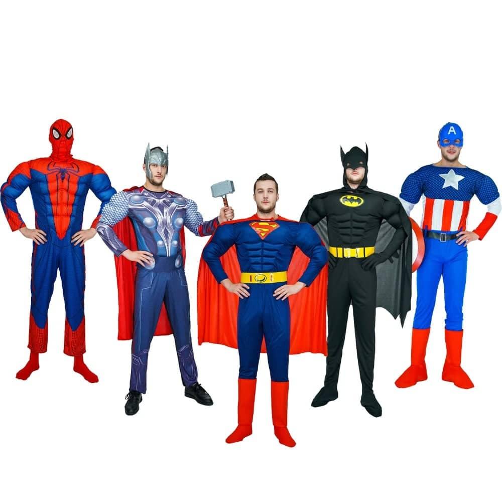 תחפושת לקבוצה רעיון קבוצתית לגברים פורים 2019 מסיבה תחרות לרכישה בזול לוקו0ט