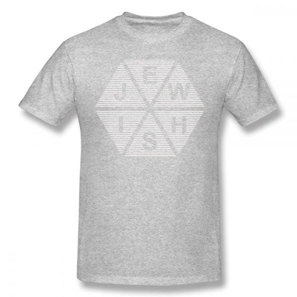 חולצה מעוצבת צבעונית סלוגן, מסרים משפט בעברית סמלים בהדפסה לוקו0ט במבצע לקניה