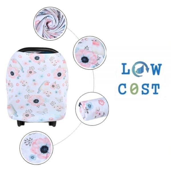 שמיכה לעגלה מחממת צבעונית לתינוק תינוקת יולדת מתנת לידה ילדים לוקו0ט לקניה בזול
