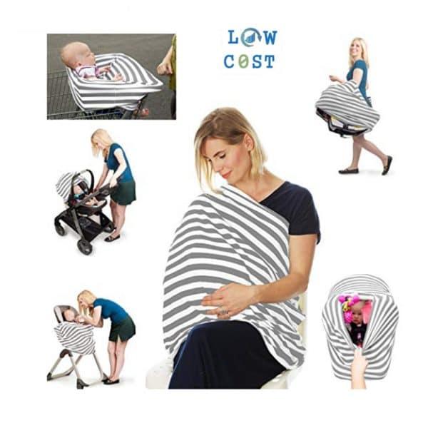 שמיכת הנקה לתינוק תינוקת יולדת מתנת לידה ילדים להזמנה לוקו0ט במבצע