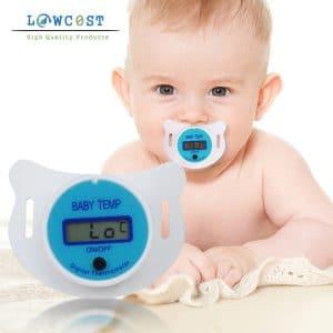 תרמו-מטר מצח אוזן חשמלי לתינוק תינוקת יולדת מתנת לידה ילדים להזמנה לוקו0ט במבצע
