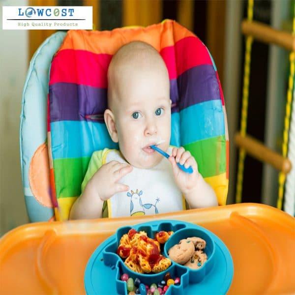 צלחות סיליקון צבעוני מתנות לתינוקות לאימהות יולדות לוקו0ט לקניה בזול