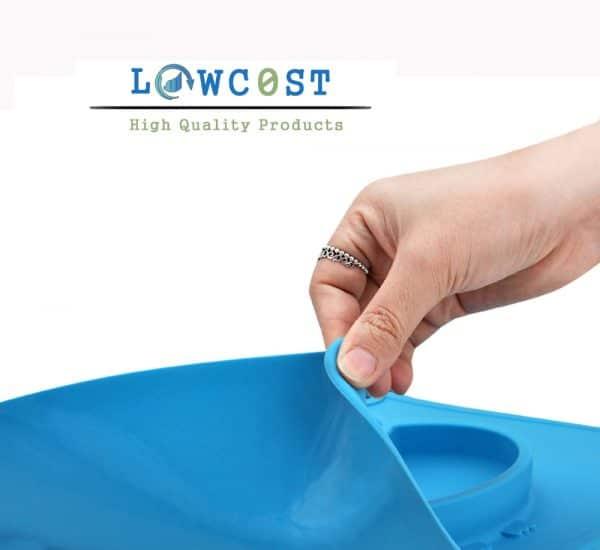 צלחות סיליקון צבעוני לתינוק תינוקת יולדת מתנת לידה ילדים להזמנה לוקו0ט במבצע