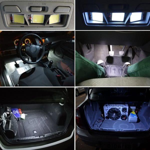 איך להחליף תאורת הלוגן לרכב לדים נורות הלוגן זינון LED לוקו0ט לקניה בזול