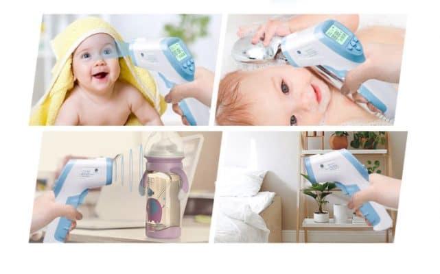 מדחום לתינוק ללא מגע נייד מוצץ לנשים מניקות להזמנה לוקו0ט במבצע